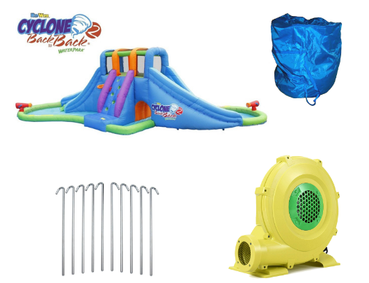 Kidwise Cyclone2 Back to Back Waterpark and Lazy River product images