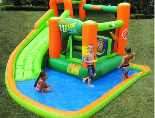kidwise endless fun 11 in 1 inflatable slide