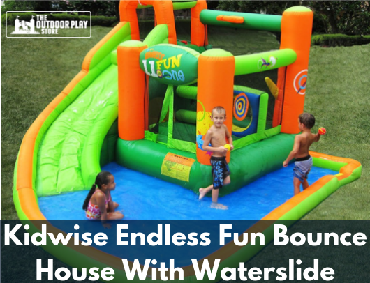 Kidwise Endless Fun Bounce House With Waterslide For Sale