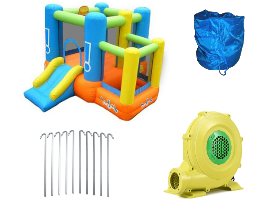 Kidwise Little Star Bounce House with Slide product images