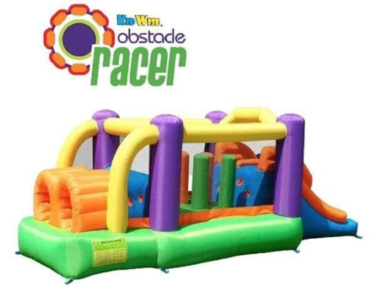 Kidwise Obstacle Speed Racer with logo