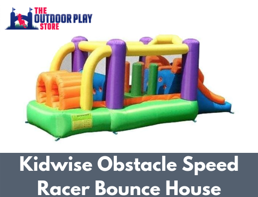 Kidwise Obstacle Speed Racer Bounce House For Sale