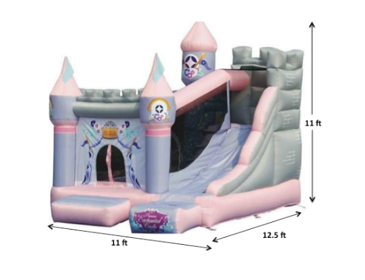 Kidwise Princess Enchanted Castle Specs