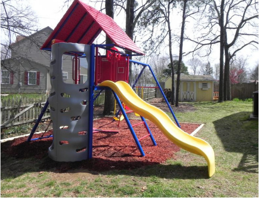 LIFETIME A-Frame Metal Playset image 1