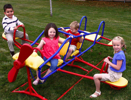 LIFETIME Ace Flyer Teeter Totter - kids playing