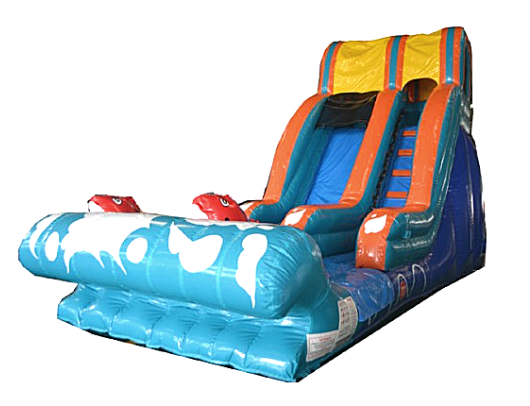 lil kahuna commercial inflatable slide wet or dry