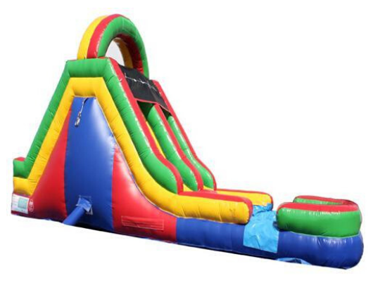 Moonwalk USA Commercial Inflatable Obstacle Course Slide