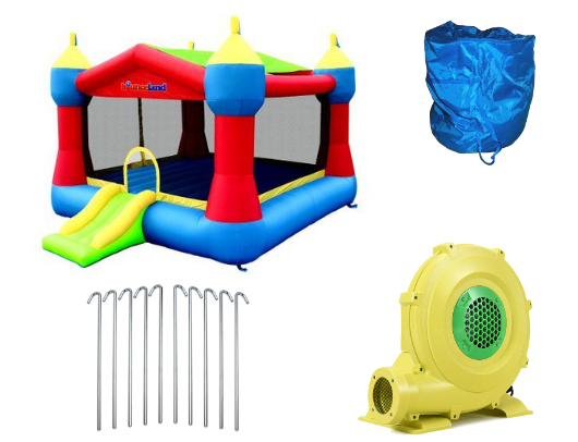 Bounceland Party Castle Product Images