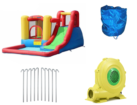 Bounceland Jump and Splash Adventure Product Images