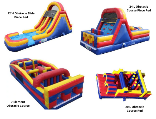 Moonwalk USA Commercial Inflatable Obstacle Course