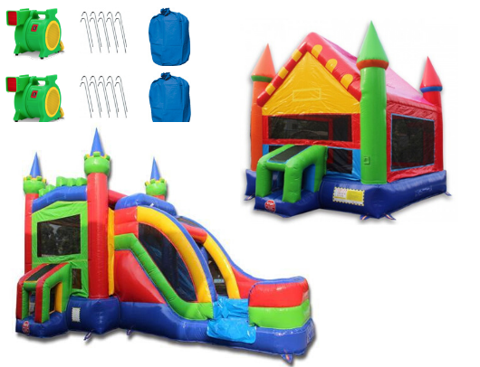 Commercial Inflatable Combo Package