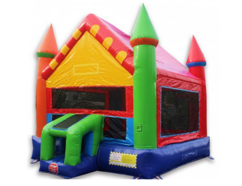 W-354 - 14' Castle bounce house