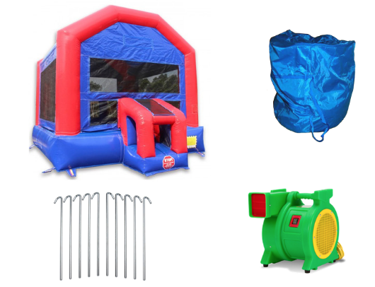 W-356 Fun House 14x14 Bounce House  product images