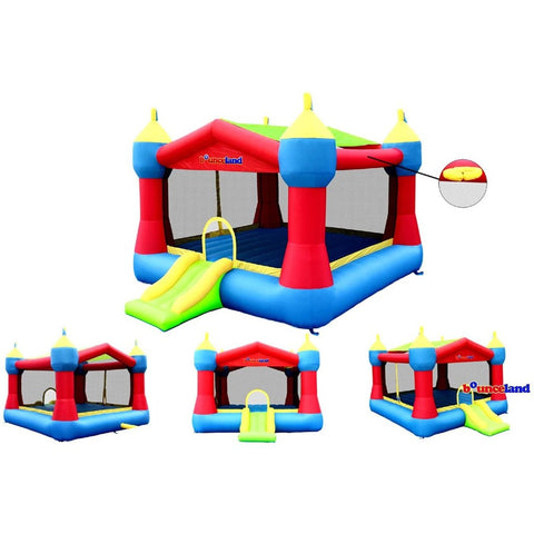 bounceland party castle bounce house with slide