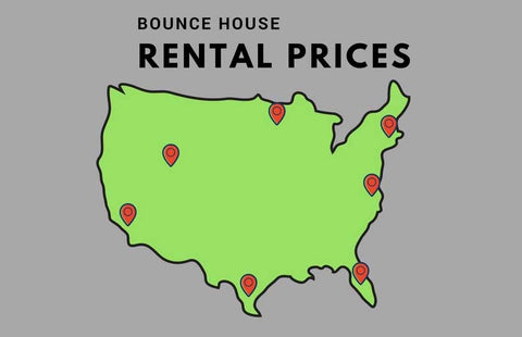 bounce house rental prices