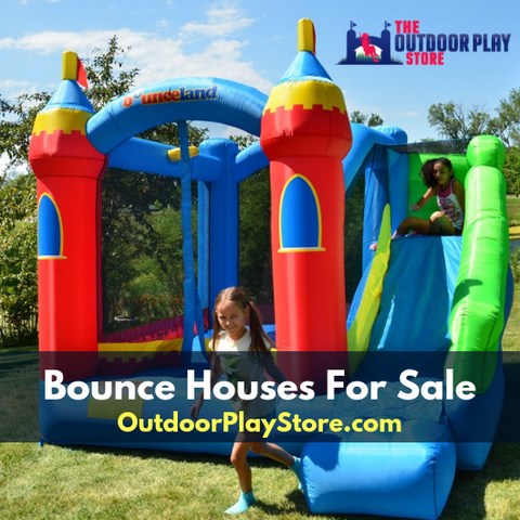 bounce house for sale from the outdoor play store
