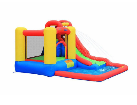 bounceland jump and splash bounce house