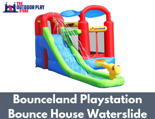 bounceland playstation waterslide bounce house for sale