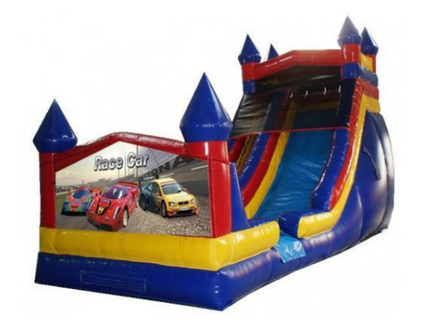 Inflatable Water Slides - Commercial Blow Up Water Slide For