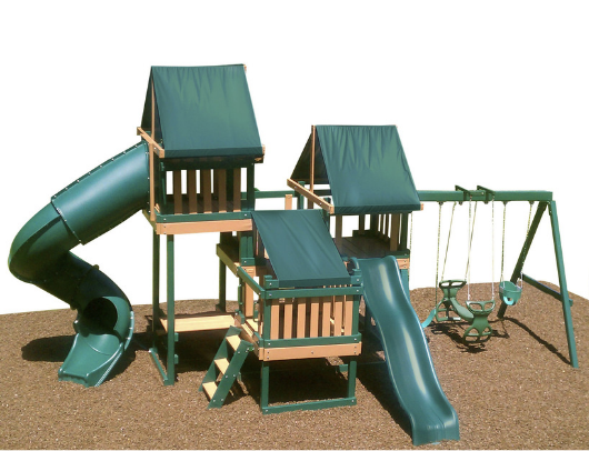 congo monkey swing set package #4