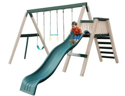 congo swing'n monkey 3 swing set