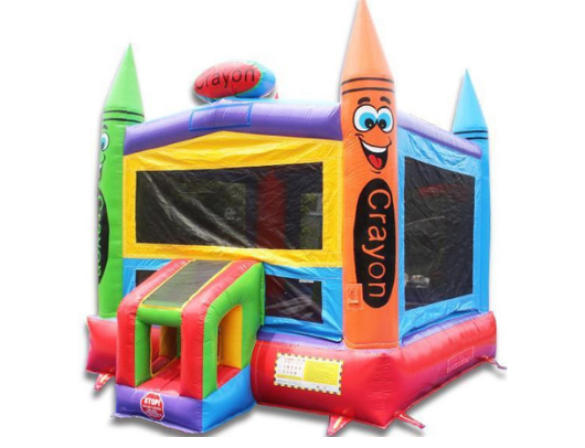 crayon commercial bounce house