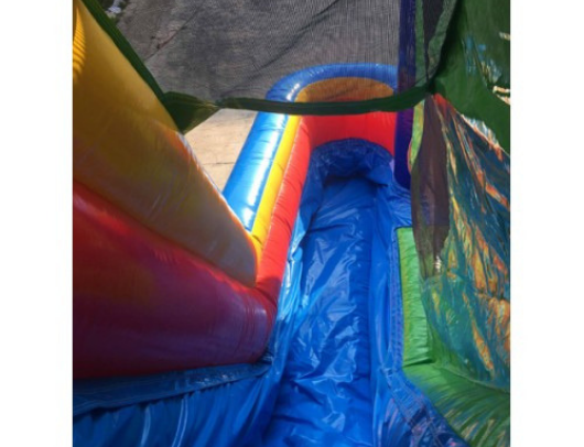 commercial inflatable slide on the 4 in 1 combo