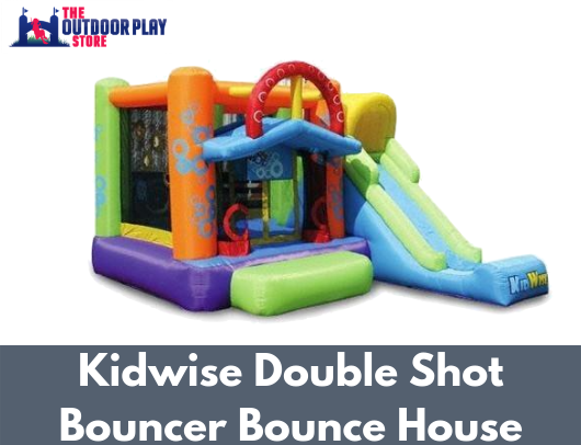 Kidwise Double Shot Bouncer Bounce House For Sale