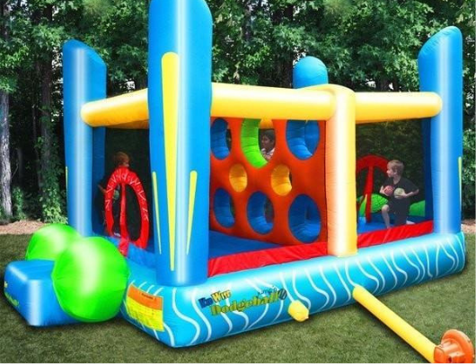 kidwise dodgeball inflatable bounce house