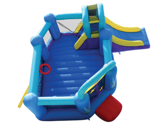bounceland pop star is a large bounce house
