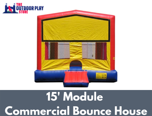 module commercial bounce house for sale
