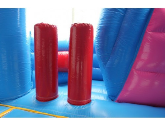 princess castle combo inflatable pop up obstacles