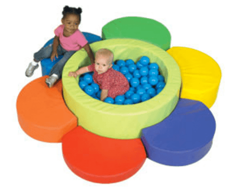 toddler flower petal ball pool