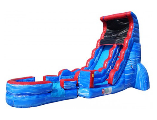 tsunami screamer commercial inflatable water slide