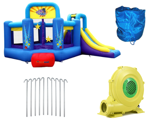 bounceland pop star bounce house for sale
