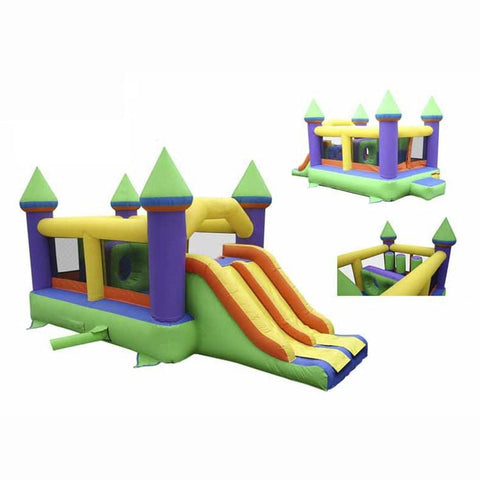 KidWise Commercial Bounce and Slide Castle I