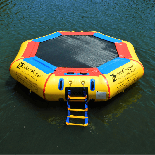 Island Hopper 10 foot Water bouncer water trampoline