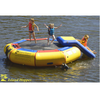 Image of Island Hopper 10 foot Water bouncer with slide water trampoline