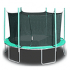 Image of 13.5' round magic circle trampoline with safety cage