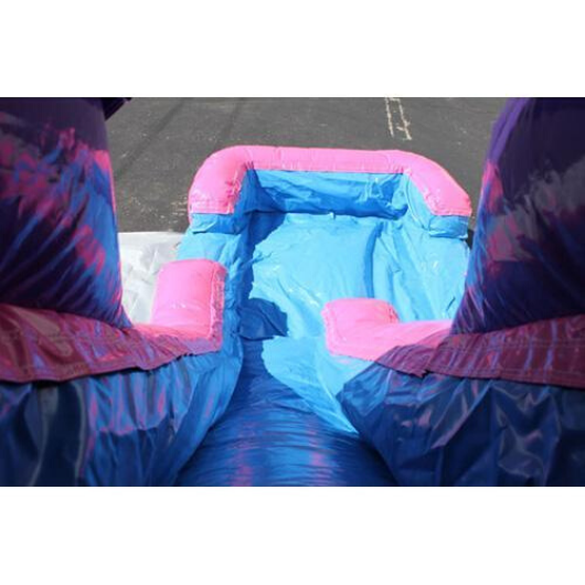 2-Lane Pink Module Combo Bouncer Wet n Dry