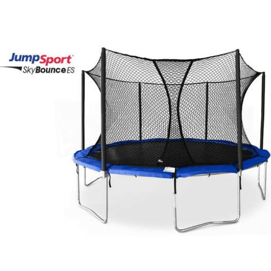 JumpSport SkyBounce ES 14' Trampoline with Enclosure Net