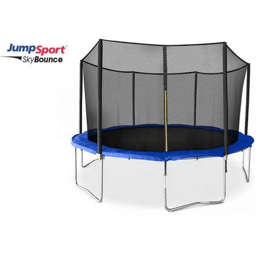 JumpSport 14' SkyBounce Round Trampoline with Safety Net Enclosure