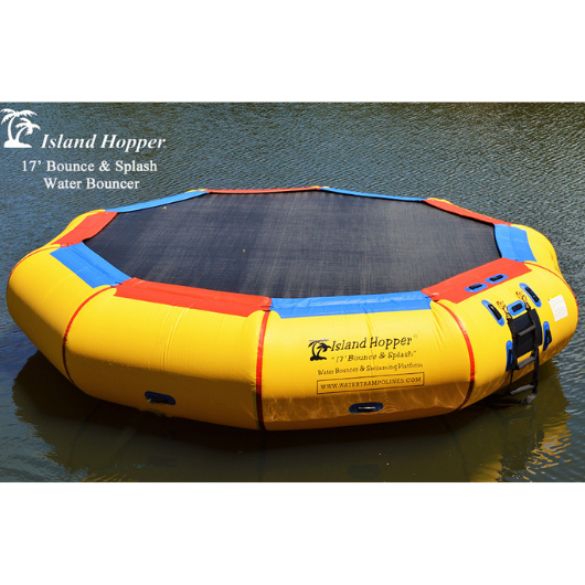 17ft Island Hopper Bounce N Splash Water Bouncer