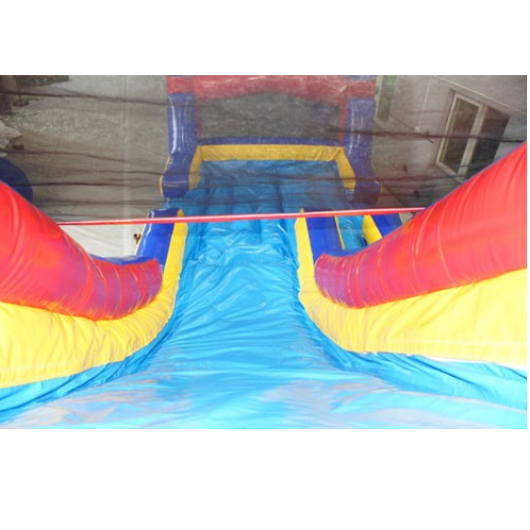 18'H Castle Inflatable Slide Wet n Dry