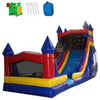 Image of Commercial Bounce House - 18'H Castle Module Inflatable Slide Wet/Dry -The Outdoor Play Store