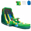 Image of Inflatable Slide - 18'H Palm Tree Screamer Inflatable Slide Wet/Dry - The Bounce House Store