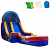 Image of Inflatable Slide - 18'H Rainbow Screamer Inflatable Slide Wet/Dry - The Bounce House Store