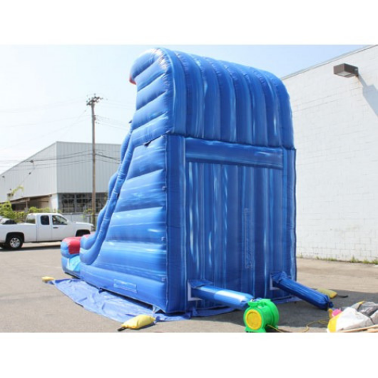18'H Tsunami Inflatable Slide Wet n Dry