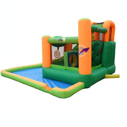 Residential Bounce House - KidWise Endless Fun 11 in 1 Inflatable Bounce House with Waterslide - The Bounce House Store