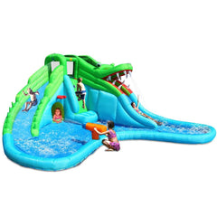 Residential Bounce House - KidWise Crocodile Swamp Water Slide - The Bounce House Store